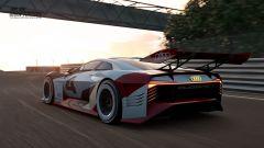 Audi e-tron Vision Gran Turismo: la supercar elettrica non è più (solo) un gioco - Immagine: 3
