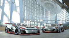 Audi e-tron Vision Gran Turismo: la supercar elettrica non è più (solo) un gioco - Immagine: 11