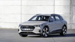 Audi e-tron: vista 3/4 anteriore