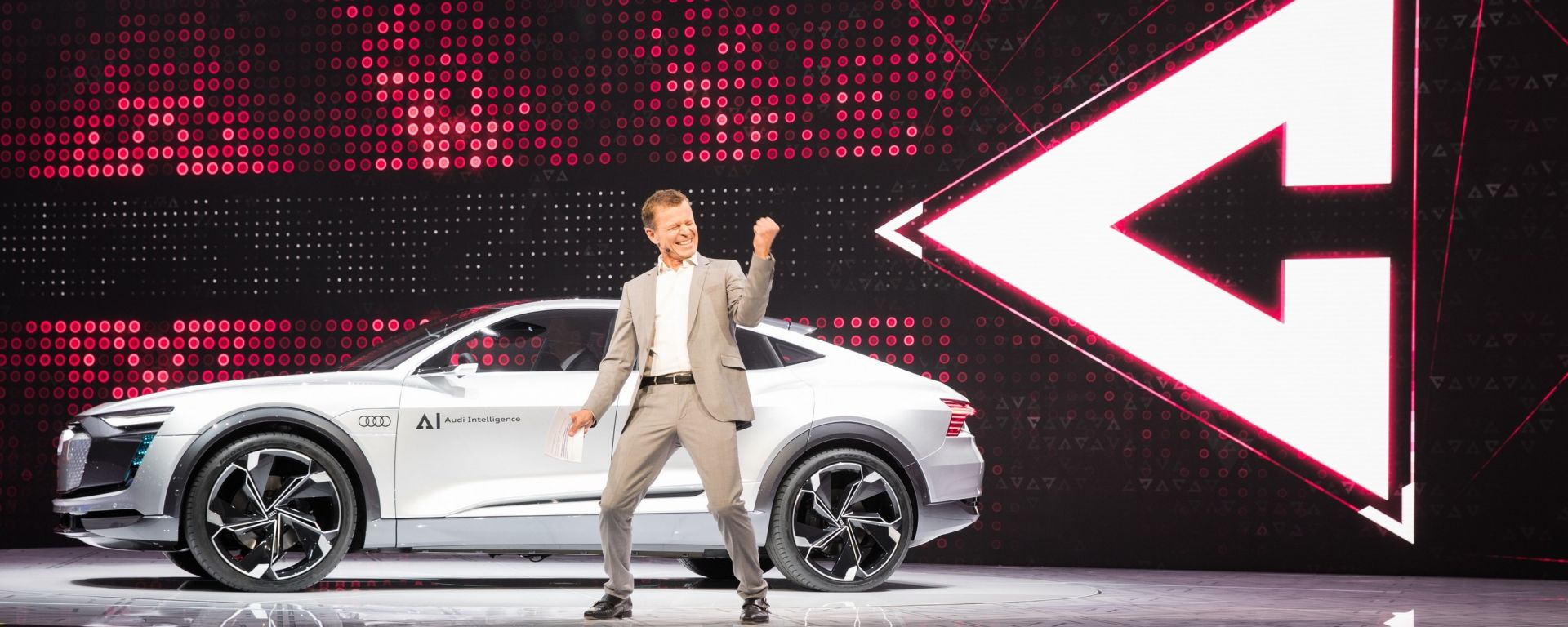 Audi Elaine Concept al Salone dell'auto di Francoforte 2017