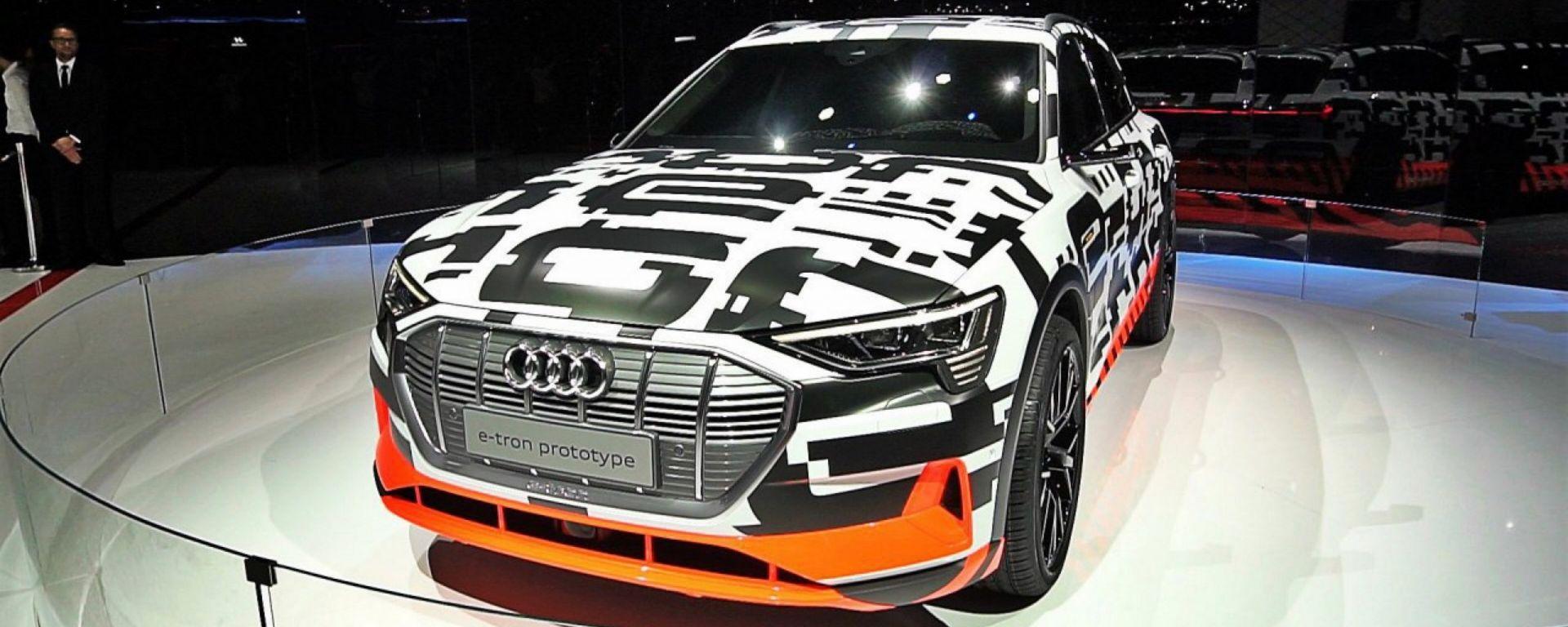 Audi e-tron: in video dal Salone di Ginevra 2018