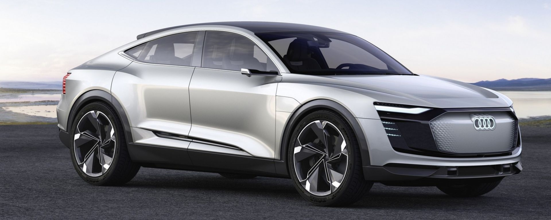 Audi e-tron Sportback concept: arriverà nel 2019