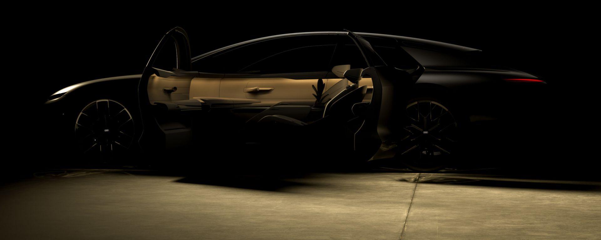 Audi Grand Sphere: il concept delle Audi del futuro (elettrico)