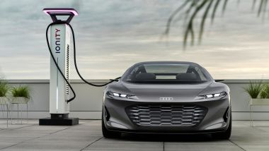 Audi Grandpshere, ricarica rapida fino a 270 kW