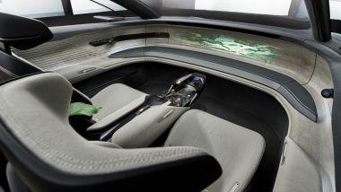 Audi Grandsphere concept, gli interni ''autonomi''