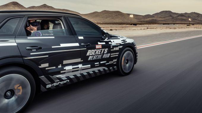Audi al CES 2019, realtà virtuale sincronizzata