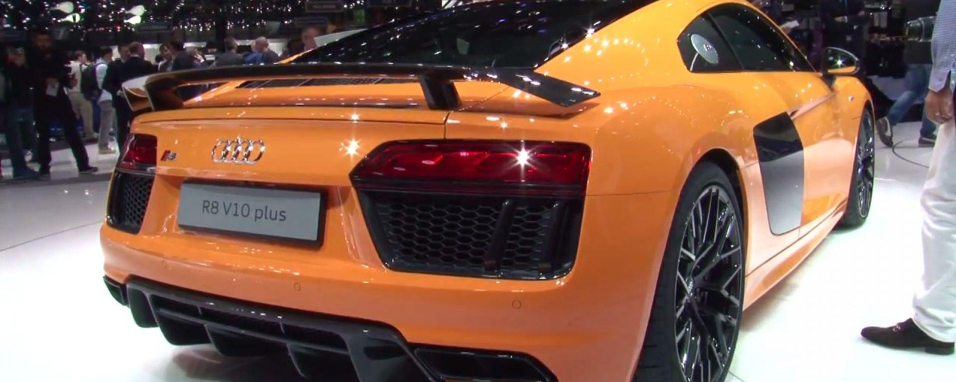 Audi: il video dallo stand