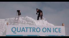 Audi: la Q7 diventa un pupazzo di neve - Immagine: 9
