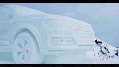 Audi: la Q7 diventa un pupazzo di neve - Immagine: 4