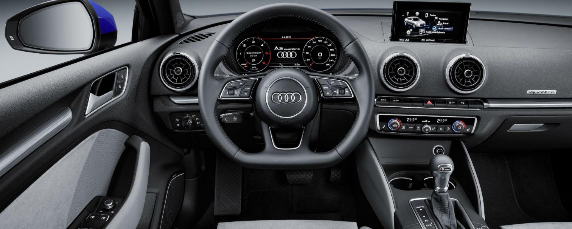 Audi: la plancia con Audi MMI