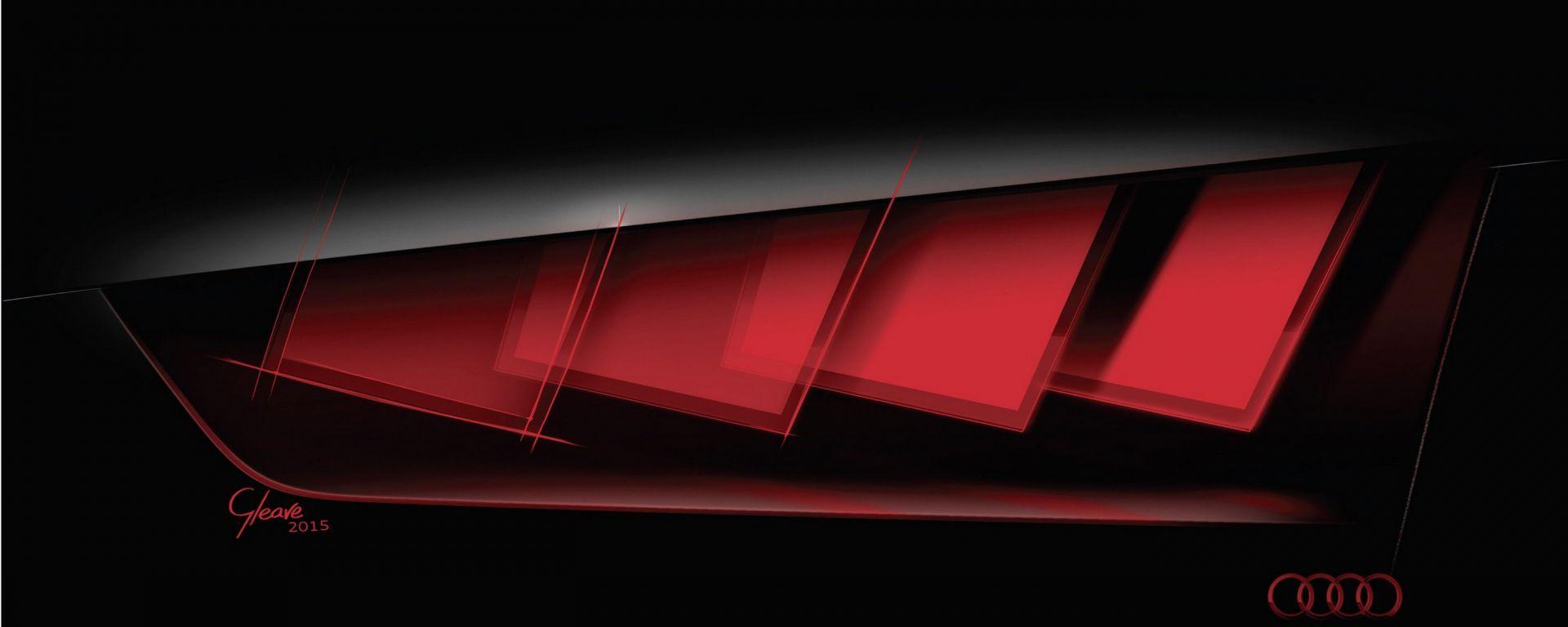Audi Matrix OLED: luci a Francoforte