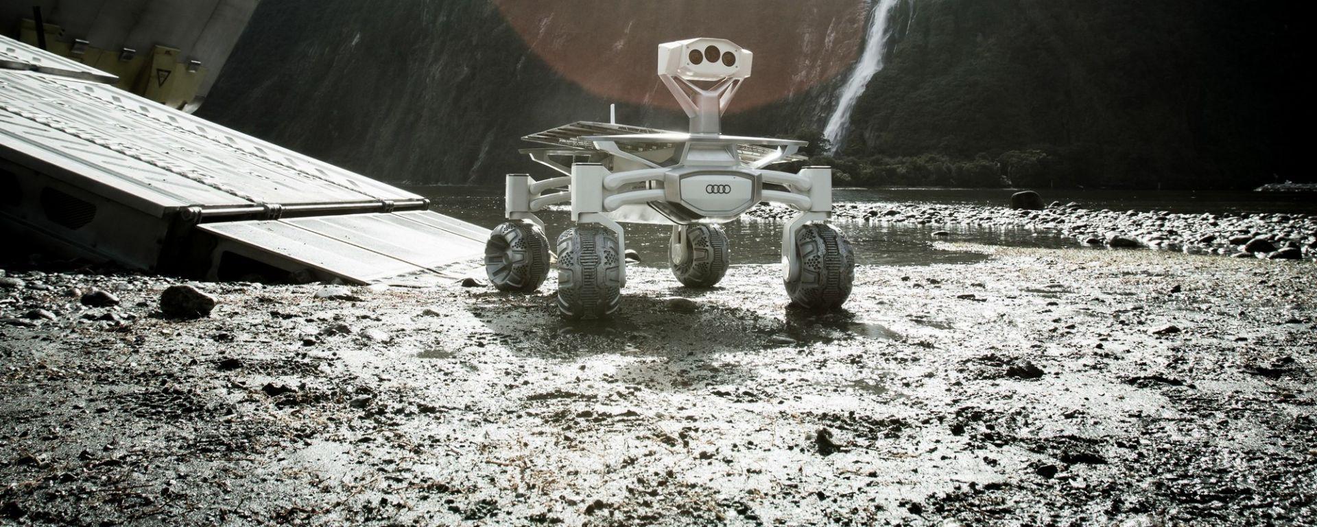 Audi Lunar Quattro: in azione in