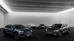 Audi: manifesto della mobilità elettrica. Spunta una nuova concept semi nascosta