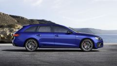 Audi MY 2022: A4, visuale laterale