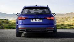 Audi MY 2022: A4, visuale posteriore
