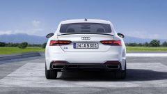 Audi MY 2022: A5, visuale posteriore