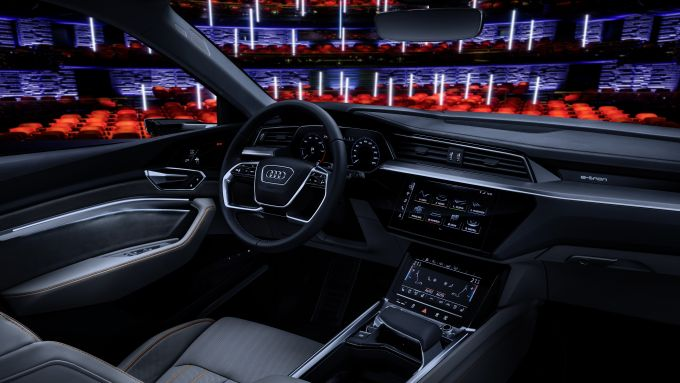 Audi al CES 2019, on-board entertainment