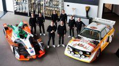 Audi presenta il suo Team Dakar 2022: Carlos Sainz, Lucas Cruz, Emil Bergkvist, Mattias Ekström, Édouard Boulanger, Stéphane Pet