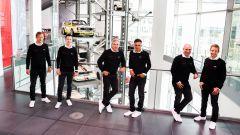 Audi presenta il dream team per la Dakar 2022 con Sainz e Peterhansel