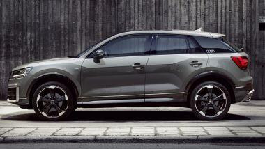 Audi Q2, fiancata muscolare ma filante