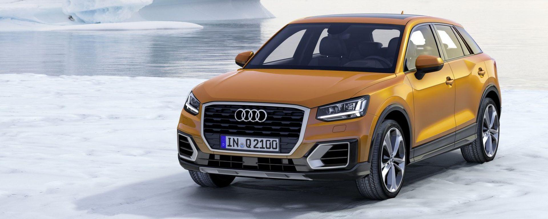 Audi Q2 al Salone di Ginevra 2016
