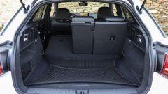 Audi Q2, il bagagliaio va da 405 litri fino a 1.050 litri