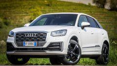 Audi Q2, il frontale