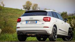 Audi Q2, il posteriore