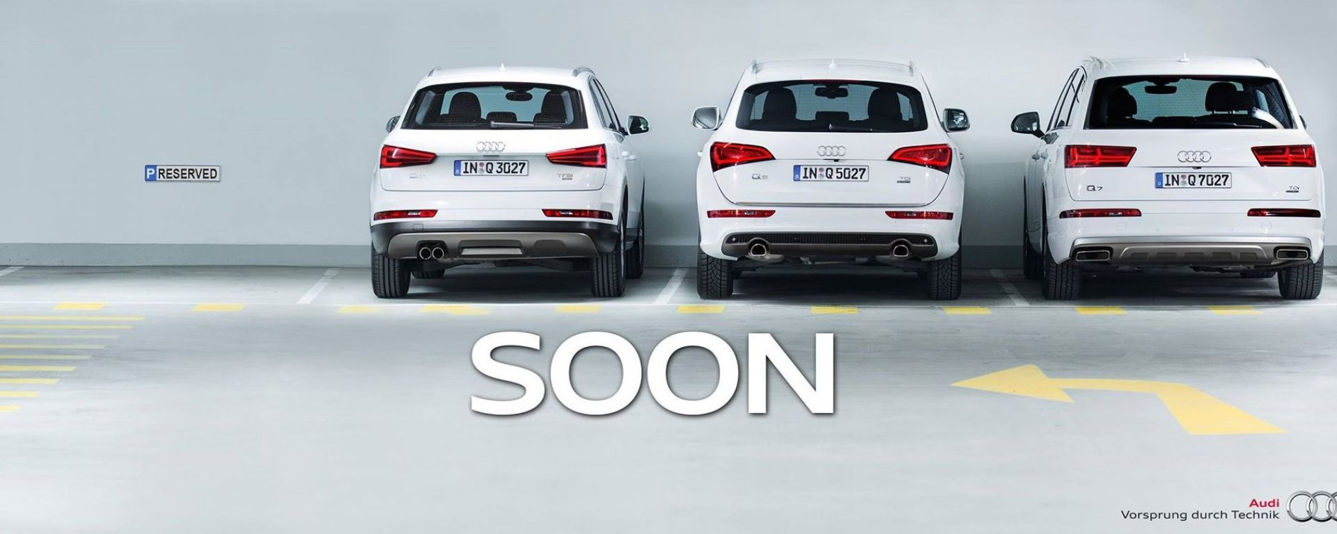Audi Q2: il teaser fantasma