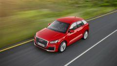 Audi Q2: la nuova crossover abbandona le forme tondeggianti della Q3 in favore di linee più taglienti