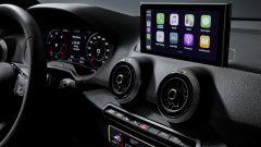 Audi Q2: la plancia centrale