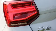 Audi Q2, le luci di coda a effetto 3D