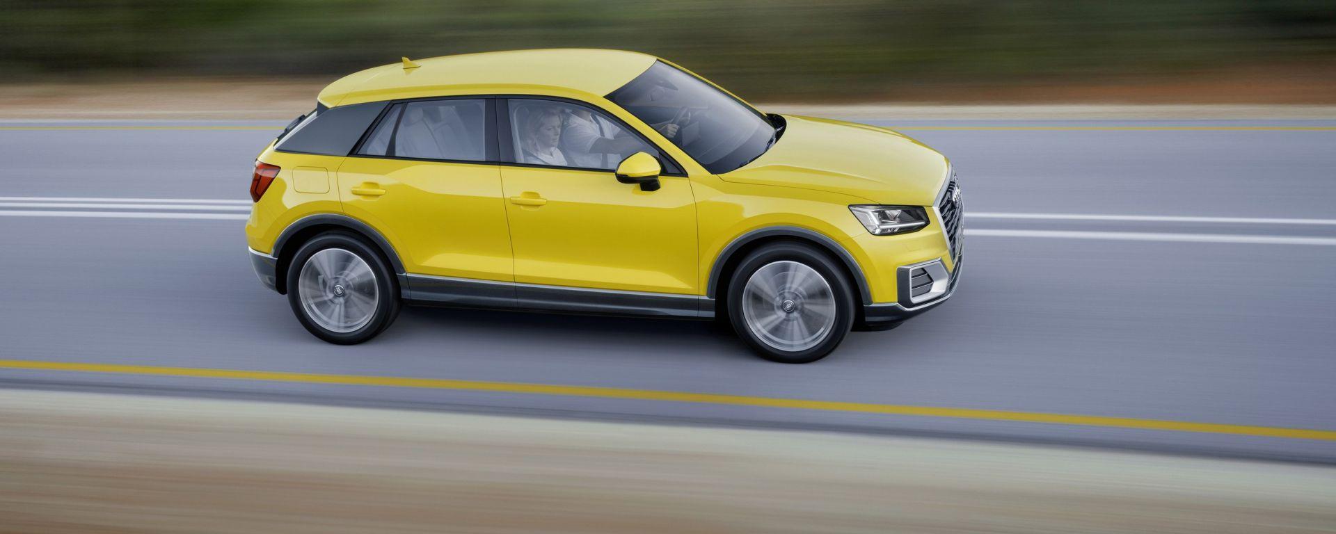 Audi Q2: prova, dotazioni e prezzi. Guarda il video