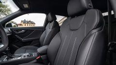 Audi Q2 restyling 2021: interni, abitacolo anteriore