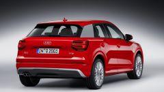 Audi Q2: vista 3/4 posteriore