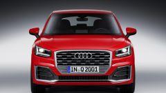 Audi Q2: vista anteriore