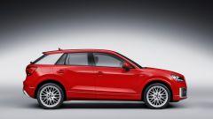 Audi Q2: vista laterale