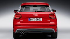 Audi Q2: vista posteriore