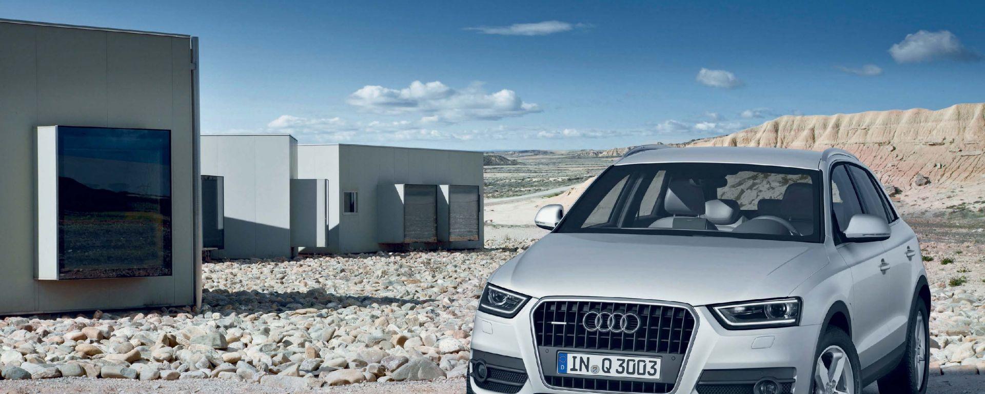 Audi Q3: i prezzi in Italia