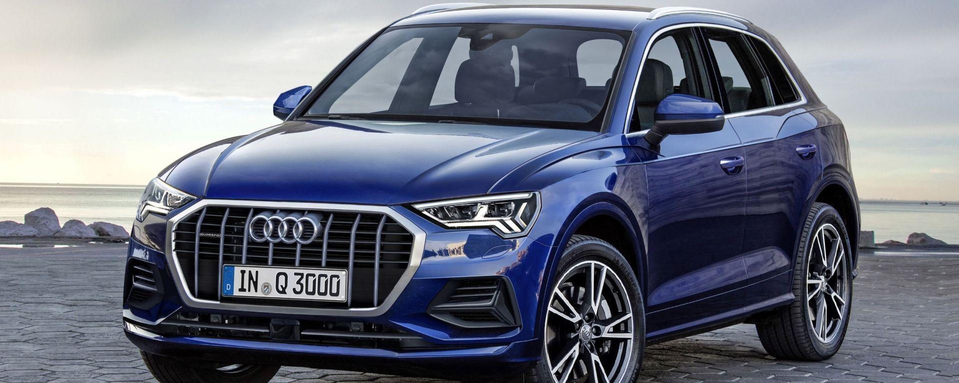 Audi Q3 2018: debutto il 25 luglio