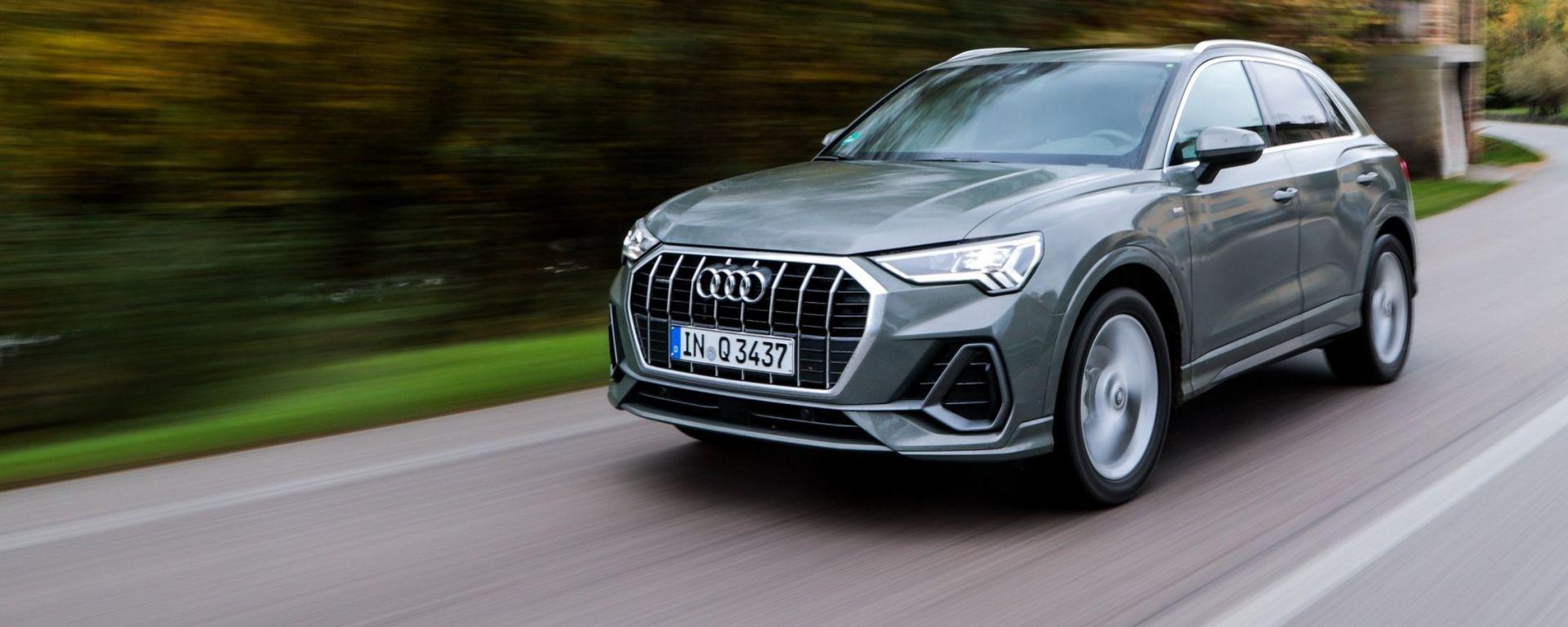 Audi Q3 2018: la prova su strada del SUV palestrato [VIDEO]