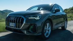Audi Q3 dinamica frontale 3/4