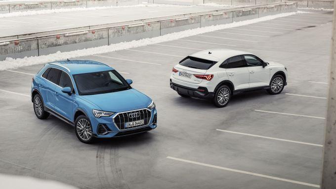 Audi Q3 e Q3 Sportback PHEV