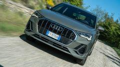 Audi Q3 frontale dinamica