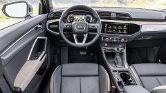 Audi Q3: gli interni
