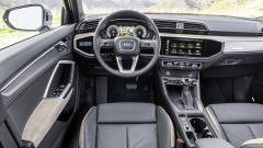 Audi Q3, gli interni
