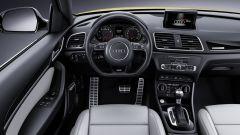 Audi Q3 MY 2017: fanno parte del pacchetto S Line Competition lo sterzo sportivo e i sedili avvolgenti