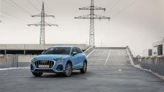 Audi Q3 PHEV, visuale di 3/4 anteriore