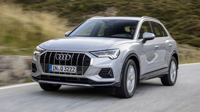 Audi Q3, spazio al mild hybrid