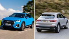 Audi Q3 e Q3 Sportback mild hybrid 2020: consumi, prezzi